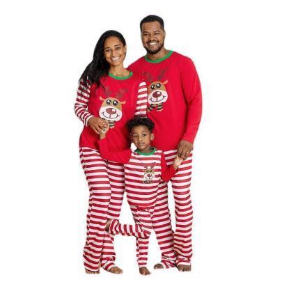 Printing Long-sleeved Christmas Home Wear Pajamas Nihaostyles Wholesale Christmas Costumes NSXPF80201