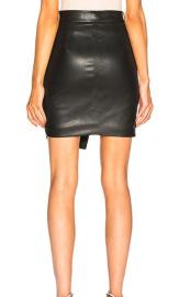 Women's PU Leather Irregular Skirt Nihaostyles Clothing Wholesale NSJM80245