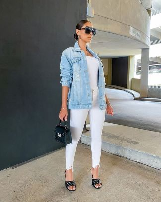 Women's Letter Printing Loose Denim Jacket Nihaostyles Clothing Wholesale NSTH80323