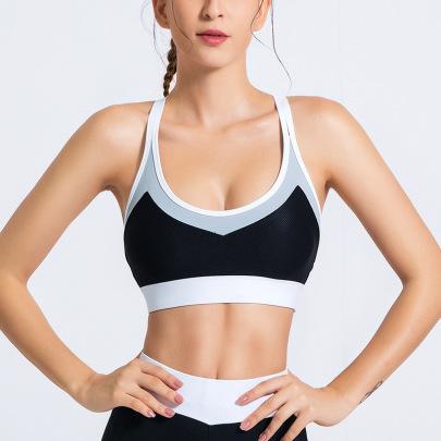 Women's Sling Yoga Bra Nihaostyles Clothing Wholesale NSSMA77040