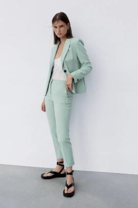 Women's High-waist Straight-leg Trousers Nihaostyles Clothing Wholesale NSXPF77073