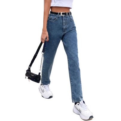 High Waist Wide-leg Jeans Nihaostyles Clothing Wholesale NSJM80364