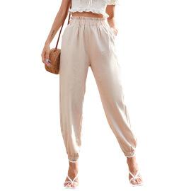 Cotton Linen Straight Harem Pants Nihaostyles Clothing Wholesale NSJM80366
