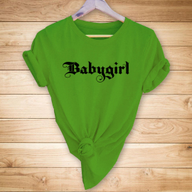 Retro English Letter Print Casual Short-sleeved T-shirt Womennihaostyles Wholesale Clothing NSYAY80709