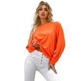 Autumn And Winter Women's Loose Round Neck Sweatershirt  Nihaostyles Wholesale Clothing NSJM80437