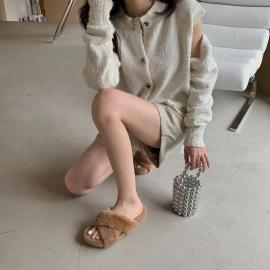 Women's Non-slip Outer Wear Slippers Nihaostyles Wholesale Clothing NSCA80479