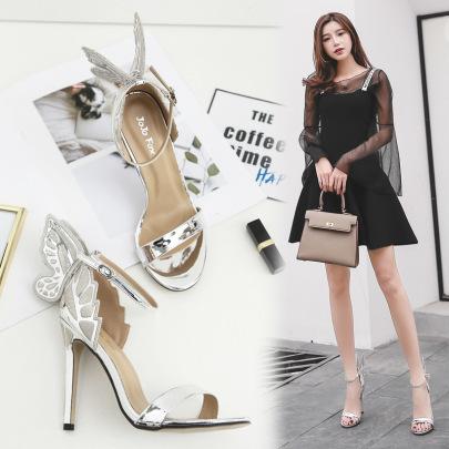 Women's Stiletto High Heel Sandals Nihaostyles Wholesale Clothing NSCA80481