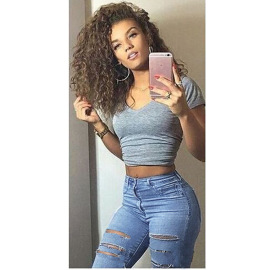 Women's Ripped Jeans Nihaostyles Wholesale Clothing NSWL80488