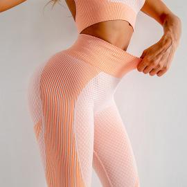 Women's Tight High Waist Stretch Sports Yoga Leggings Nihaostyles Wholesale Clothing NSXER80561