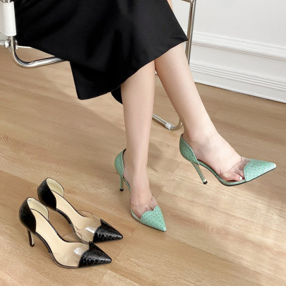 Women's Pointed Stiletto High-heeled Shoes Nihaostyles Wholesale Clothing NSCA80569