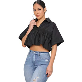 Autumn Women's Casual Lace-up Top Nihaostyles Wholesale Clothing NSXHX80703