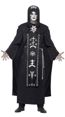 Halloween Cosplay Couple Wizard Robe Costume Nihaostyles Wholesale Halloween Costumes NSQHM80980