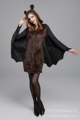 Halloween Batman Vampire Cosplay Costume Nihaostyles Wholesale Halloween Costumes NSQHM80982