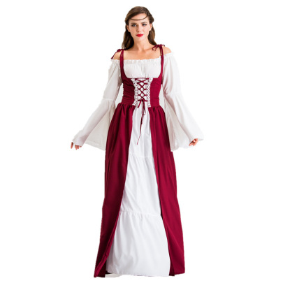 Halloween Cosplay Costume Medieval Renaissance Dress Nihaostyles Wholesale Halloween Costumes NSQHM80983