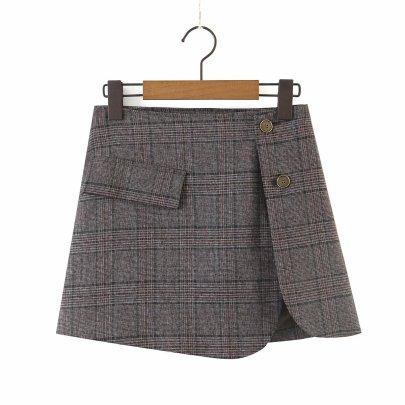 Autumn Women's Retro Split Small Half Skirt Nihaostyles Wholesale Clothing NSAM81024
