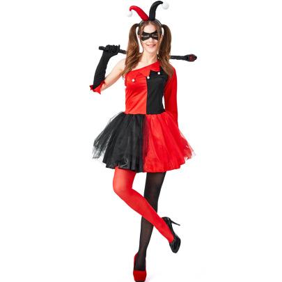 Circus Clown Cosplay Costume Nihaostyles Wholesale Halloween Costumes NSPIS81377