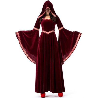Medieval Victorian Dress Nihaostyles Wholesale Halloween Costumes NSPIS81378