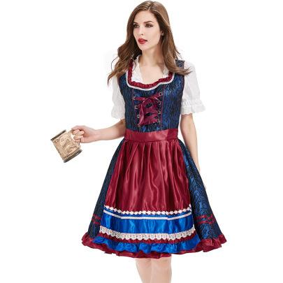 Oktoberfest Beer Clothes Nihaostyles Wholesale Halloween Costumes NSPIS81383
