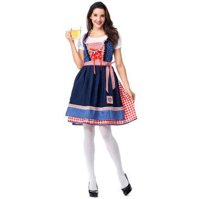 Oktoberfest Costume With Stars Embellishment Beads Nihaostyles Clothing Wholesale NSPIS81390