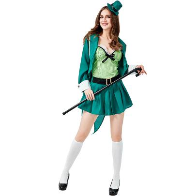 Irish Leprechaun Cosplay Costume Set Nihaostyles Wholesale Halloween Costumes NSPIS81396