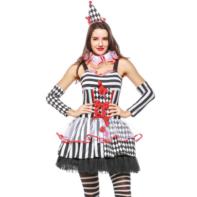 Circus Queen Role-playing Uniform Set Nihaostyles Wholesale Halloween Costumes NSPIS81398