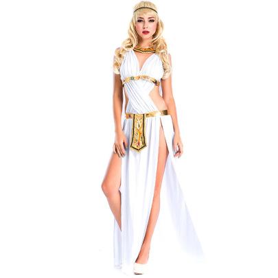 White Dress Set Nihaostyles Wholesale Halloween Costumes NSPIS81399