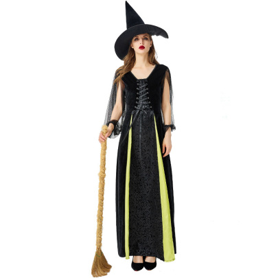 Witch Role Costume Set Nihaostyles Wholesale Halloween Costumes NSPIS81403