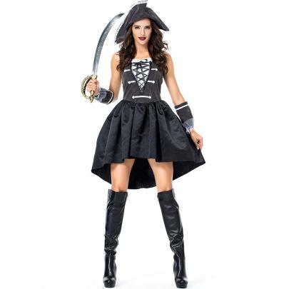 Navigator Role Playing Costume Set Nihaostyles Wholesale Halloween Costumes NSPIS81404