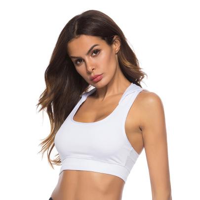 Solid Color Hooded Yoga Vest Nihaostyles Clothing Wholesale NSZLJ81464