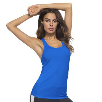 High Stretch Tight-fitting Yoga Top Nihaostyles Clothing Wholesale NSZLJ81476