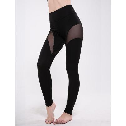 Mesh Stitching Leggings Nihaostyles Clothing Wholesale NSZLJ81477