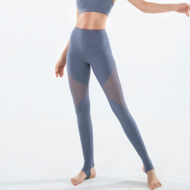 High Waist Mesh Yoga Pants Nihaostyles Clothing Wholesale NSSMA77184