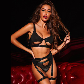 Women's Three-piece Lingerie Set Nihaostyles Clothing Wholesale NSRBL77278