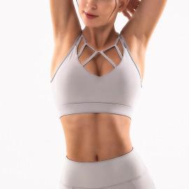 Women's Double Shoulder Strap Sports Underwear Nihaostyles Clothing Wholesale NSSMA77294