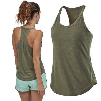 High Stretch Loose Sleeveless Yoga Top Nihaostyles Clothing Wholesale NSZLJ81646