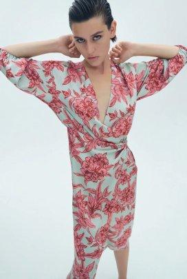 Women's Printing Long-sleeved Dress Nihaostyles Clothing Wholesale NSXPF77388