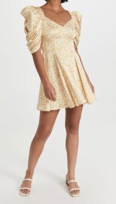 Women's Puff Sleeve Floral Dress Nihaostyles Clothing Wholesale NSXPF77419