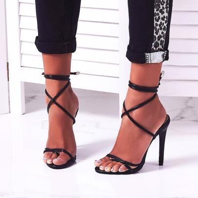 Women's High Heels Stiletto Sandals Nihaostyles Clothing Wholesale NSHYR77506