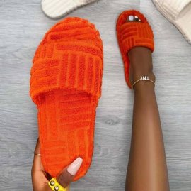 Women's Thick-soled Fur Slippers Nihaostyles Clothing Wholesale NSHYR77511