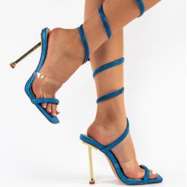 Women's Open-toed Pattern Stiletto Sandals Nihaostyles Clothing Wholesale NSCA77522