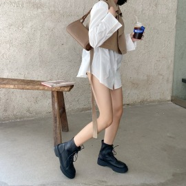 Women's Thick-soled Short Boots Nihaostyles Clothing Wholesale NSCA77527