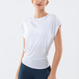 Women's Loose Quick-drying Yoga T-shirt Nihaostyles Clothing Wholesale NSSMA77581