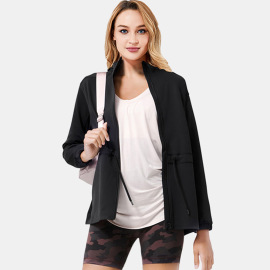Women's Quick-drying Hooded Sports Jacket Nihaostyles Clothing Wholesale NSSMA77584