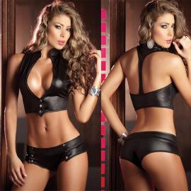 Women's Fibre Lingerie Suit Nihaostyles Clothing Wholesale NSFQQ77622