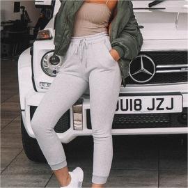 Women's Solid Color Pants Nihaostyles Clothing Wholesale NSMUZ77648