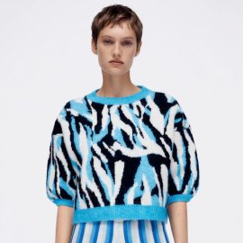 Women's Animal Pattern Jacquard Sweater Nihaostyles Clothing Wholesale NSAM77704