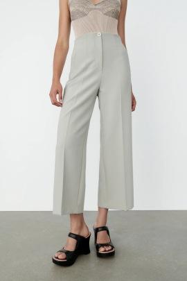 Women's High-waist Wide-leg  Straight-leg Pants Nihaostyles Clothing Wholesale NSAM77816