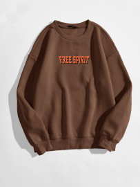 Women's Letter Pattern Printing Round Neck Sweatshirt Nihaostyles Clothing Wholesale NSGMX77862