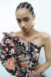 Women's Digital Printing Asymmetric Blouse Nihaostyles Clothing Wholesale NSAM77894
