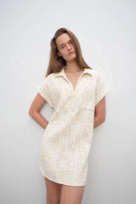 Women's Lapel Casual Dress Nihaostyles Clothing Wholesale NSAM77948